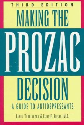 Cover image for Making the Prozac decision : a guide to antidepressants