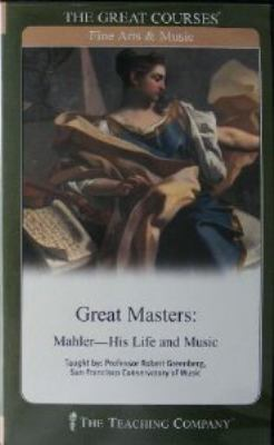 Cover image for Great masters. Mahler, his life & music