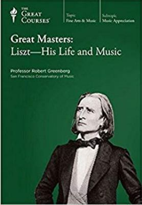 Cover image for Great masters. Liszt, his life & music