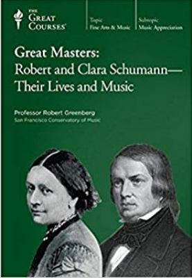 Cover image for Great masters. Robert & Clara Schumann, their lives and music