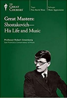 Cover image for Great masters. Shostakovich, his life & music