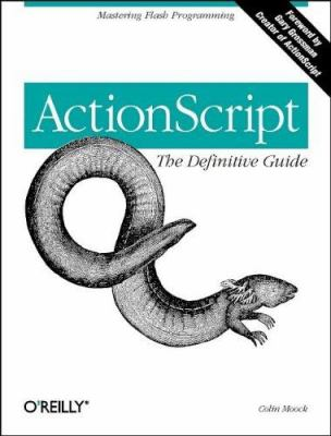 Cover image for ActionScript : the definitive guide