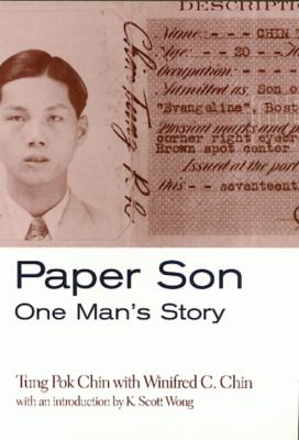 Cover image for Paper son : one man's story