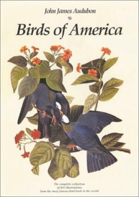 Cover image for Birds of America : the complete collection of 435 illustrations from the most famous bird book in the world