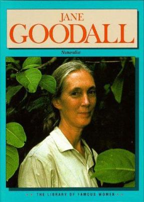 Cover image for Jane Goodall, naturalist