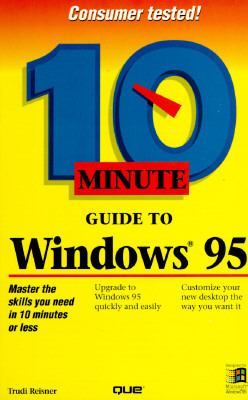 Cover image for 10 minute guide to Windows 95