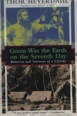 Cover image for Green was the earth on the seventh day