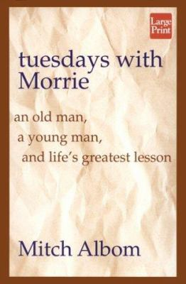 Cover image for Tuesdays with Morrie