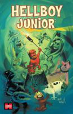 Cover image for Hellboy junior
