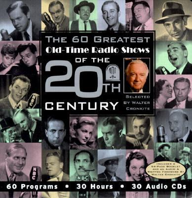 Cover image for The 60 greatest old-time radio shows of the 20th century