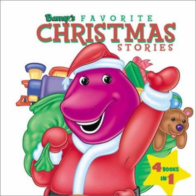 Cover image for Barney's favorite Christmas stories.