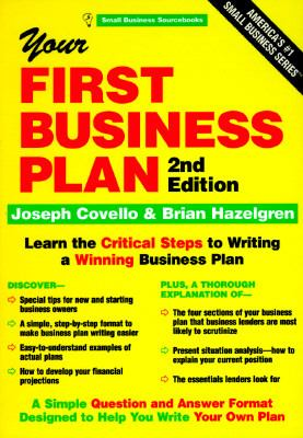 Cover image for Your first business plan