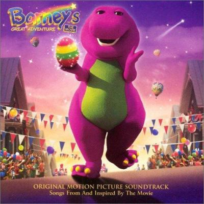 Cover image for Barney's great adventure the movie : original motion picture soundtrack.