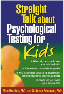 Cover image for Straight talk about psychological testing for kids