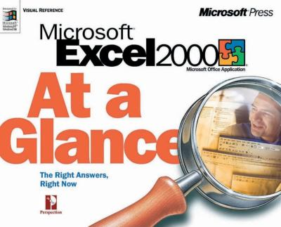 Cover image for Microsoft Excel 2000 at a glance