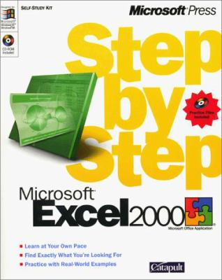 Cover image for Microsoft Excel 2000 step by step