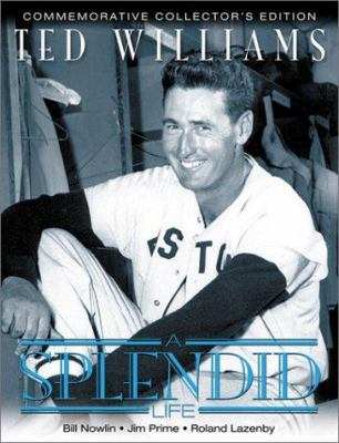 Cover image for Ted Williams : a splendid life