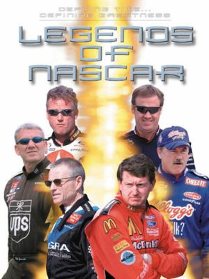 Cover image for Defying time--defining greatness : legends of NASCAR.