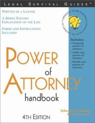 Cover image for Power of attorney handbook