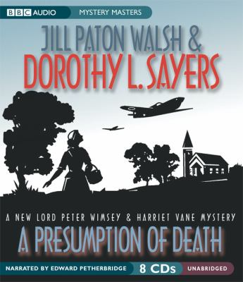 Cover image for A presumption of death