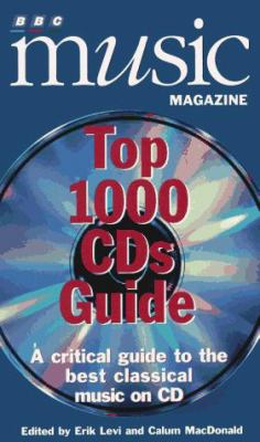 Cover image for BBC Music Magazine top 1000 CDs guide