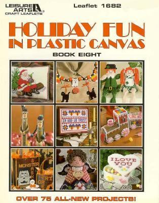 Cover image for Holiday fun in plastic canvas. Book eight
