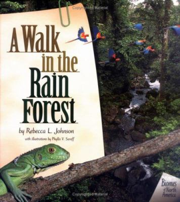 Cover image for A walk in the rain forest