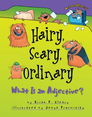 Cover image for Hairy, scary, ordinary : what is an adjective?