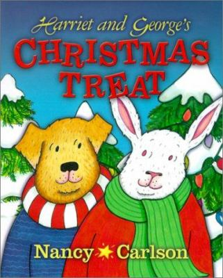 Cover image for Harriet and George's Christmas treat