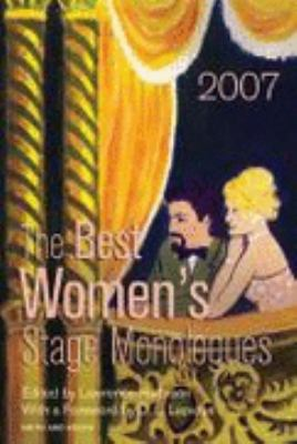 Cover image for The best women's stage monologues of 2007