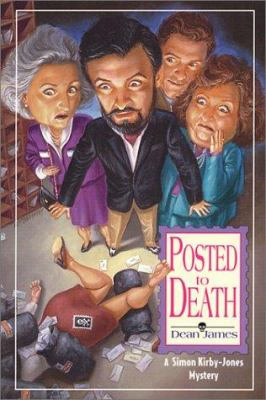 Cover image for Posted to death : a Simon Kirby-Jones mystery