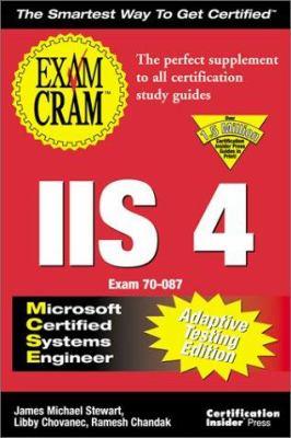 Cover image for MCSE IIS 4 exam cram, adaptive testing edition