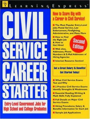 Cover image for Civil service career starter.