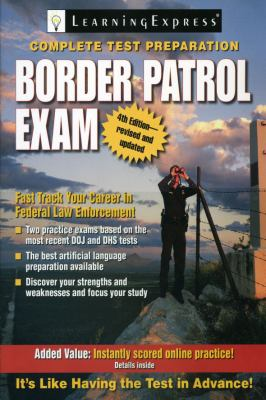 Cover image for Border patrol exam.