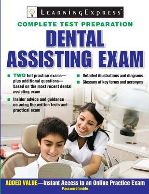 Cover image for Dental assisting exam.