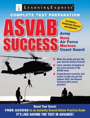Cover image for ASVAB success.