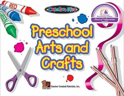 Cover image for Preschool arts and crafts