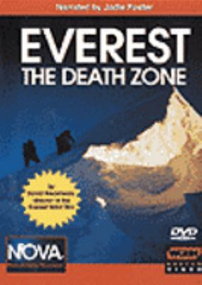 Cover image for Everest the death zone