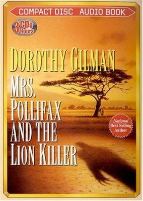 Cover image for Nova Audio Books presents Mrs. Pollifax and the lion killer