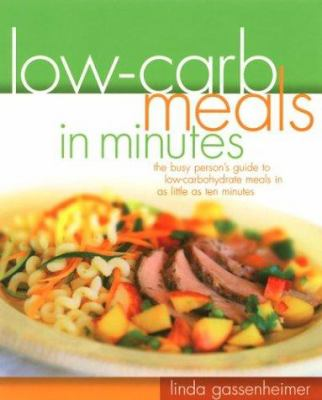 Cover image for Low-carb meals in minutes