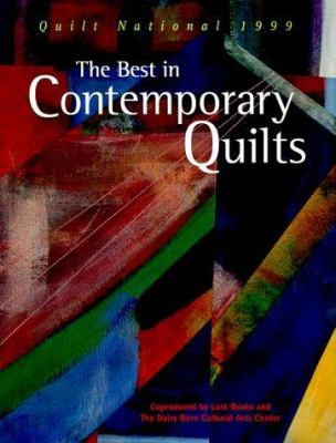 Cover image for The best in contemporary quilts : Quilt National, 1999.