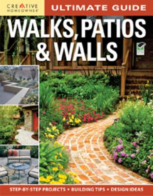 Cover image for Walks, patios & walls