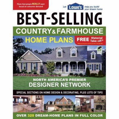 Cover image for Best-selling country & farmhouse home plans