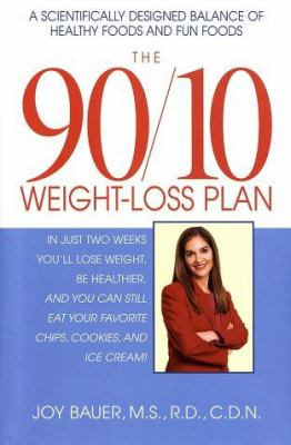 Cover image for The 90/10 weight-loss plan