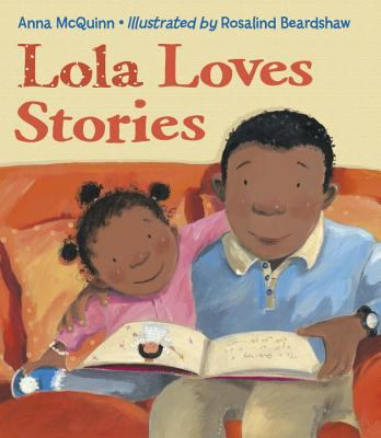 Cover image for Lola loves stories