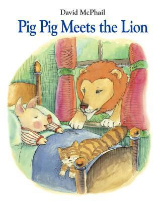 Cover image for Pig Pig meets the lion
