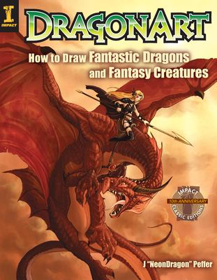 Cover image for DragonArt : how to draw fantastic dragons and fantasy creatures