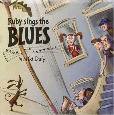 Cover image for Ruby sings the blues