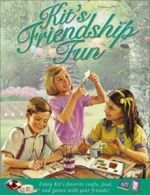 Cover image for Kit's friendship fun.