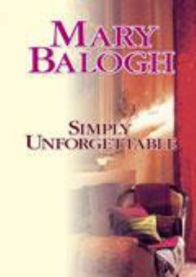 Cover image for Simply unforgettable